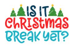 Christmas Break Boredom Busters