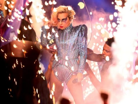 Lady Gaga Lights Up the Super Bowl LI Halftime Show