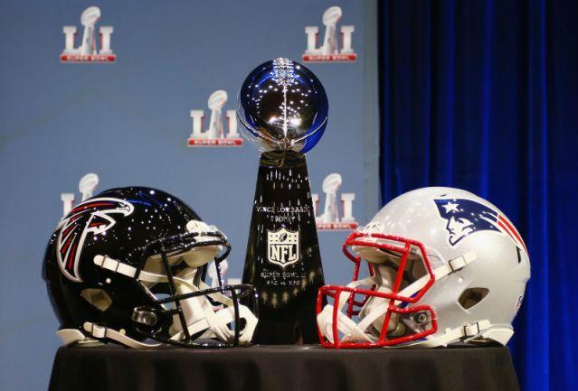 patriots vs falcons in super bowl li the medallion