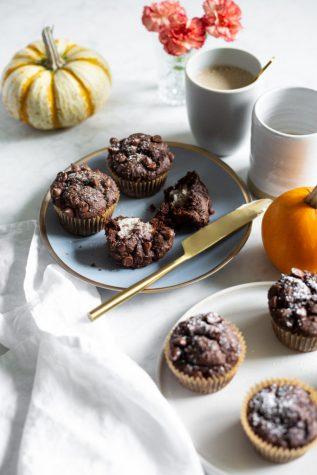 Chocolate Pumpkin Muffins: Vegan & Gluten Free