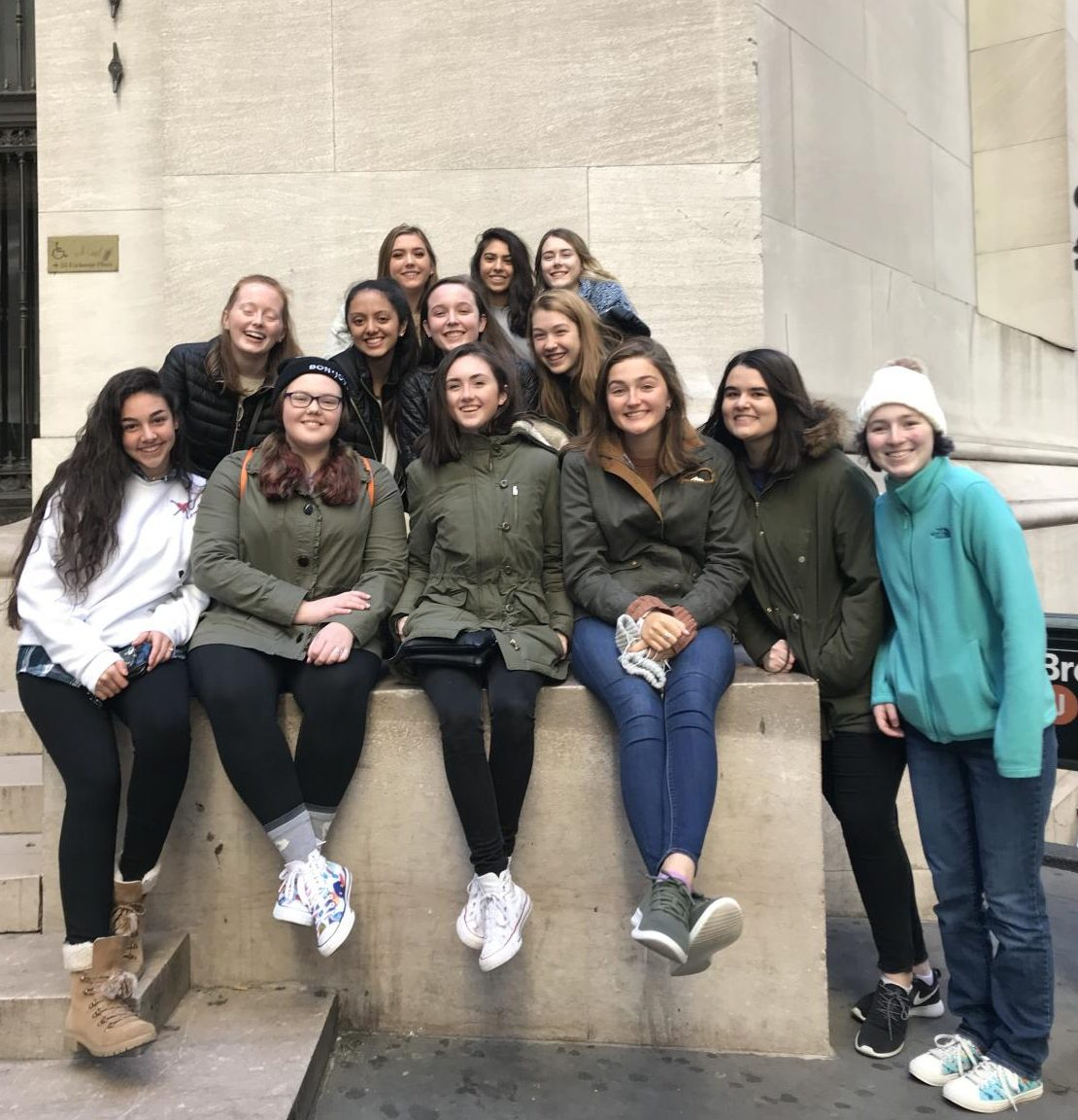 IBDP '20 (missing a couple) on our IB trip to NYC in October 2018.